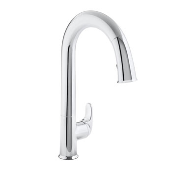 Kohler K-72218-CP Sensate Touchless Pull-down Kitchen Faucet with ...