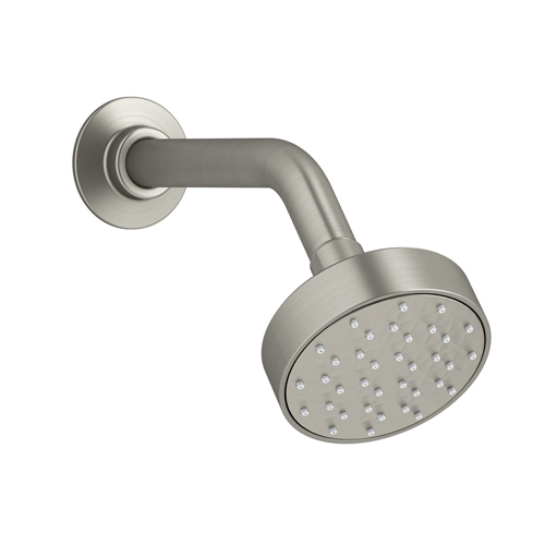 Kohler K-72416-BN Awaken 1.5 gpm G90 Single Function Showerhead - Brushed Nickel