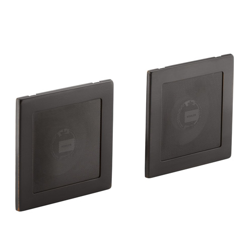 Kohler K-8033-2BZ Soundtile Speakers - Oil Rubbed Bronze