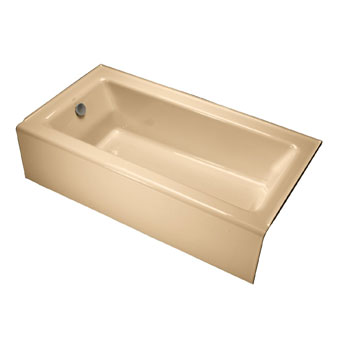 Kohler K-875-33 Bellwether Bath With Integral Apron and Left Hand Drain - Mexican Sand