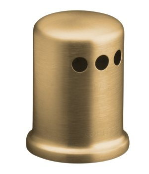 Kohler K-9111-BV Air Gap Cover with Collar - Vibrant Brushed Bronze