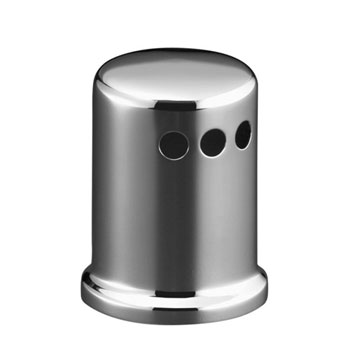 Kohler K-9111-2BZ Air Gap Cover with Collar - Oil Rubbed Bronze (Pictured in Chrome)