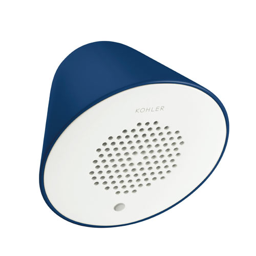 Kohler K-9246-FNY Moxie Wireless Speaker - Navy Blue