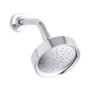 Kohler K-939-CP Purist 2.0 gpm Single Function Showerhead with Katalyst Spray - Chrome