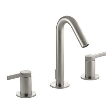 Kohler K-942-4-BN Stillness Widespread Lavatory Faucet - Brushed Nickel