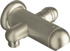 Kohler K-9511-BN MasterShower Shower Arm & Diverter - Brushed Nickel