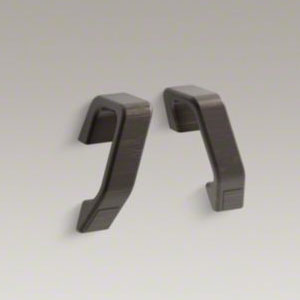 Kohler K-9621-2BZ Maestro Hand Grab Bars - Oil Rubbed Bronze