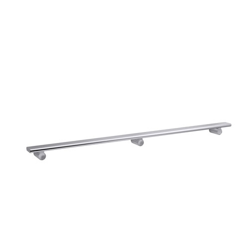 Kohler K-97627-SHP Choreograph 40 in Shower Barre - Polished Silver