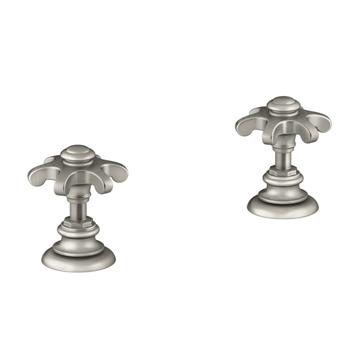 K 98068 3m Bn Kohler Artifacts Bathroom Sink Prong Handles Brushed Nickel