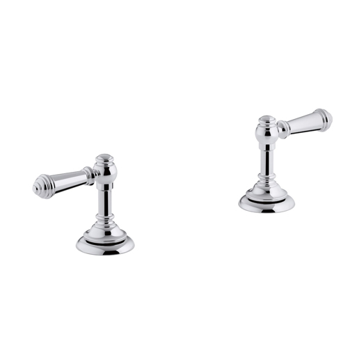 Kohler K-98068-4-CP Artifacts Bathroom Sink Lever Handles - Chrome