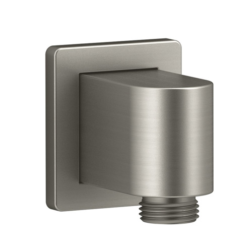 Kohler K-98351-BN Awaken Wall Mount Supply Elbow with Check Valve - Brushed Nickel