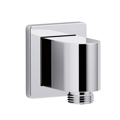 Kohler K-98351-CP Awaken Wall Mount Supply Elbow with Check Valve - Chrome