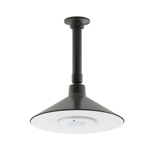 Kohler K-99105-2BZ Moxie 2.5 gpm Rainhead with Wireless Speaker - Oil Rubbed Bronze