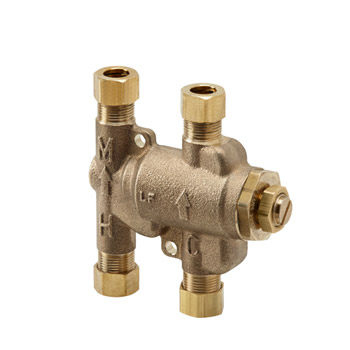 Kohler K 99799 Na Undercounter Thermostatic Mixing Valve Faucetdepot Com