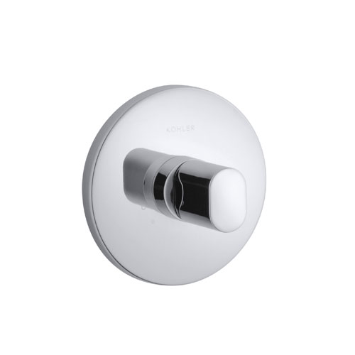 Kohler K-T10069-9-CP Oblo Thermostatic Valve Trim - Polished Chrome