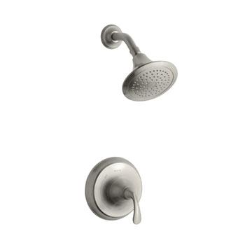 Kohler K-T10276-4-BN FortT Rite Temp Pressure Balancing Single Handle Shower Only Trim Set in Brushed Nickel