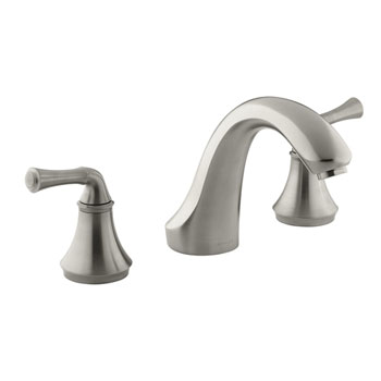 Kohler K-T10278-4A-BN Forte Two Handle Roman Tub Faucet Trim Kit - Brushed Nickel