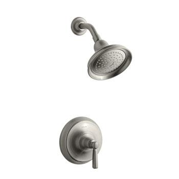 Kohler K-T10583-4-BN Bancroft One Handle Shower Only Faucet Trim Kit - Brushed Nickel