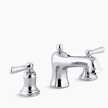 Kohler K-T10585-4-CP Bancroft Two Handle Roman Tub Faucet Trim Kit - Polished Chrome