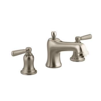 Kohler K-T10592-4-BV Bancroft Deck-Mount Bath Faucet Trim - Vibrant Brushed Bronze