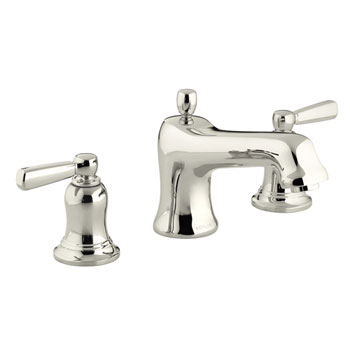 Kohler K-T10592-4-SN Bancroft Two Handle Roman Tub Faucet Trim Kit - Polished Nickel