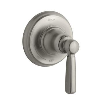 Kohler K-T10596-4-BN Bancroft One Handle Volume Control Valve Trim Kit - Brushed Nickel