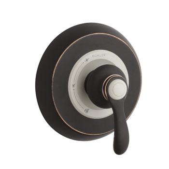 kohler kt1202142bz fairfax ritetemp pressure balancing valve trim oil rubbed bronze