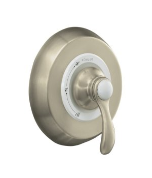 Kohler K-T12021-4-BN Fairfax Rite-Temp Pressure Balancing Valve Trim - Brushed Nickel
