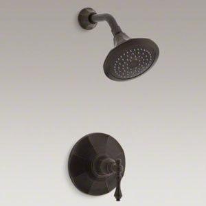 Kohler K-T13493-4-2BZ Kelston Rite Temp Shower Faucet Trim - Oil Rubbed Bronze