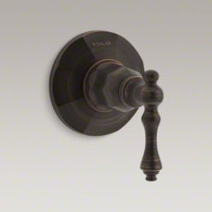 Kohler K-T13661-4-2BZ Kelston Transfer Valve Trim - Oil Rubbed Bronze