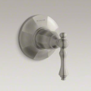 Kohler K-T13661-4-BN Kelston Transfer Valve Trim - Brushed Nickel