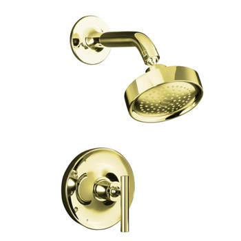 Kohler K-T14422-4-AF Purist One Handle Shower Only Faucet Trim Kit - Vibrant French Gold