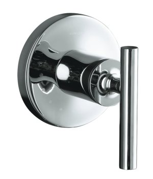 Kohler K-T14490-4-CP Purist Volume Control Trim - Chrome
