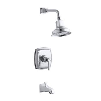 Kohler K-T16225-4-CP Margaux One Handle Bath and Shower Faucet Trim Kit - Polished Chrome