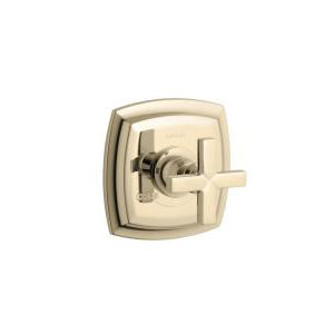 Kohler K-T16239-3-AF Margaux Thermostatic Valve Trim with Cross Handle - French Gold