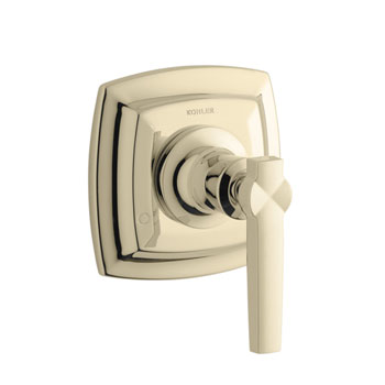 Kohler K-T16242-4-AF Margaux Single Handle Transfer Diverter Valve Trim - French Gold