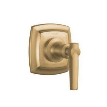 Kohler K-T16242-4-BV Margaux Transfer Valve Trim with Lever Handle - Brushed Bronze