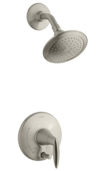Kohler K-T45108-4-BN Alteo Shower Trim with Push-button Diverter - Brushed Nickel