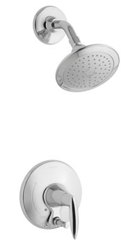Kohler K-T45108-4-CP Alteo Shower Trim with Push-button Diverter - Chrome