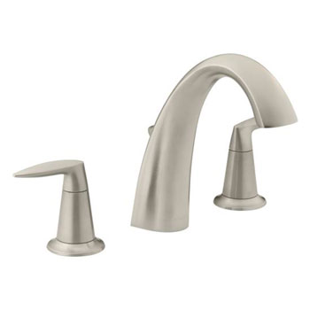 Kohler K-T45117-4-BN Alteo Bath Faucet Trim with Diverter - Brushed Nickel