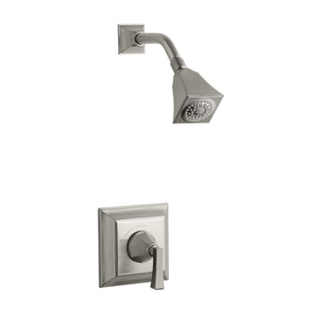 Kohler K-T462-4V-BN Memoirs Single Handle Shower Only Faucet Trim - Brushed Nickel