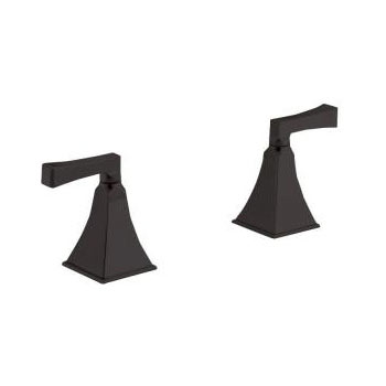 Kohler K-T467-4V-2BZ Memoirs Two Handle Deck-Mount High-Flow Bath Faucet Trim - Oil Rubbed Bronze