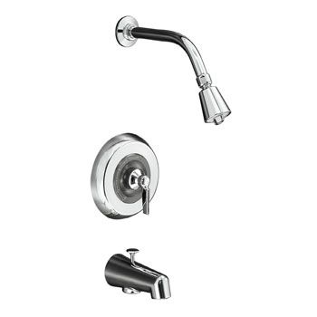 Kohler K-T6908-4A-CP Triton Rite-Temp Pressure Balancing Bath and Shower Trim - Chrome
