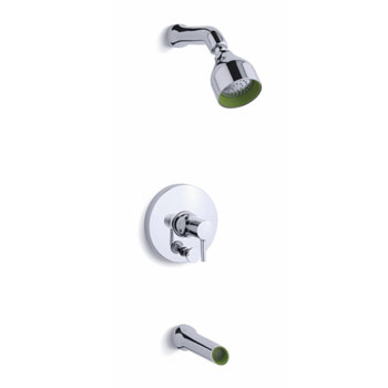 Kohler K-T8975-4-CP Toobi Bath and Shower Trim Valve Not Included - Chrome