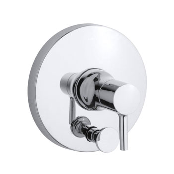 Kohler K-T8979-4-CP Toobi Rite-Temp Valve Trim with Diverter, Valve Not Included - Chrome