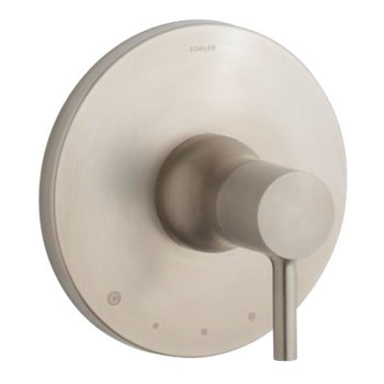Kohler K-T8982-4-BN Toobi Thermostatic Valve Trim, Valve Not Included - Brushed Nickel