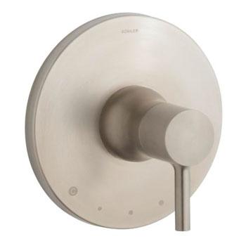 Kohler K-T8982-4-BN Toobi Thermostatic Valve Trim, Valve Not Included - Brushed Nickel