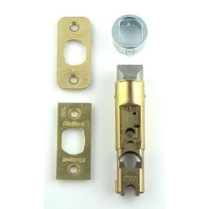 Kwikset 12003-CP-PL 7/8RF 3/26 CNV KIT Mobile Home Interior Hall/Closet Conversion Kit - Polished Brass