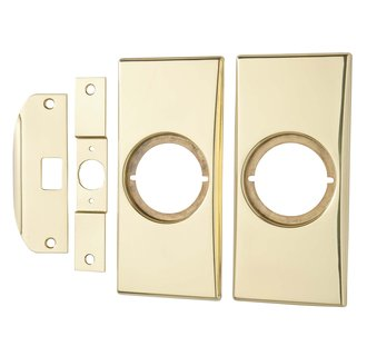Kwikset 215 Small Modernization Kit - Polished Brass