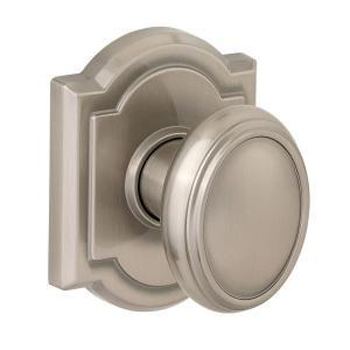 Kwikset 352CYKARB1 Carnaby Hall and Closet Knob - Venetian Bronze (Pictured in Satin Nickel)